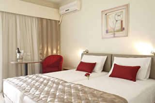 Budget Room Galaxias a comfortable and elegant bedroom for two persons