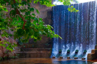 Blog Galaxias the enchanting falling water of the Seven Springs in Rhodes
