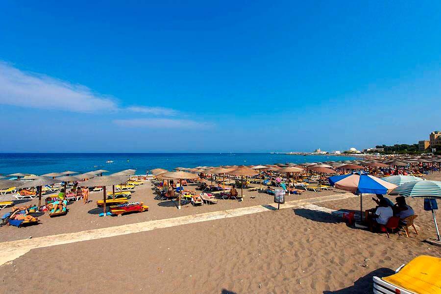 elli beach rhodes