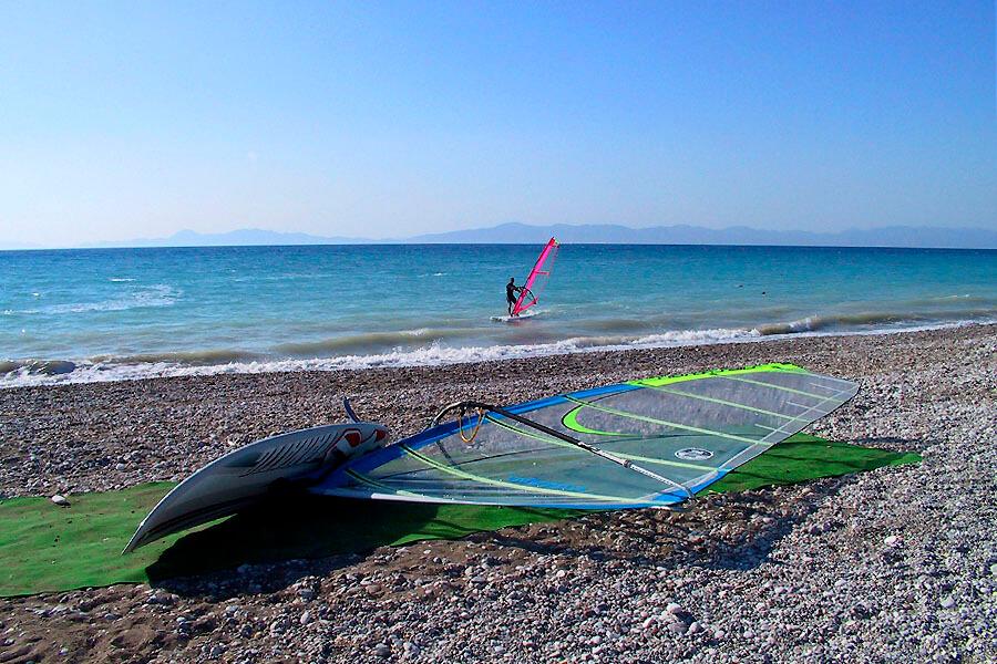 ialyssos beach rhodes